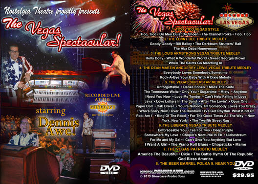 the vegas show dvd